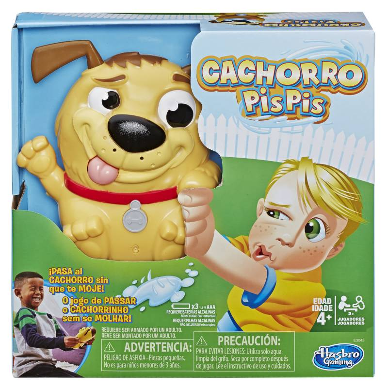 Hasbro Games - Juego de mesa Cachorro Pis Pis