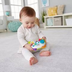 Fisher Price - Juguete de bebé Fisher Price Ríe y Aprende Control Juega y Aprende Conmigo