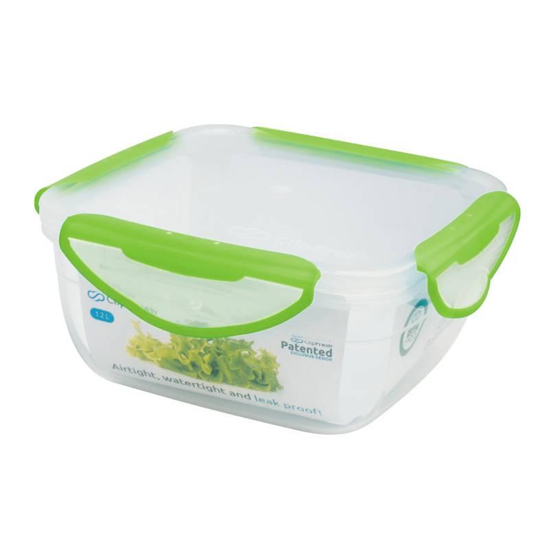 Clip Fresh - Contenedor Bolw 1.2 lt Verde