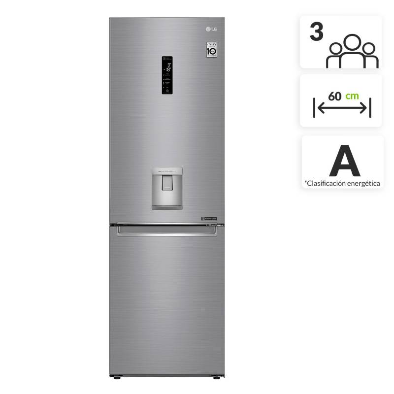LG - Nevera LG Congelador Inferior No Frost 336 lt LB37SPP