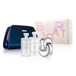 Set Perfume Bvlgari Omnia Crystalline Xmas Mujer 65 Ml + Body Lotion 75 Ml + Shower Gel 75 Ml + Estuche