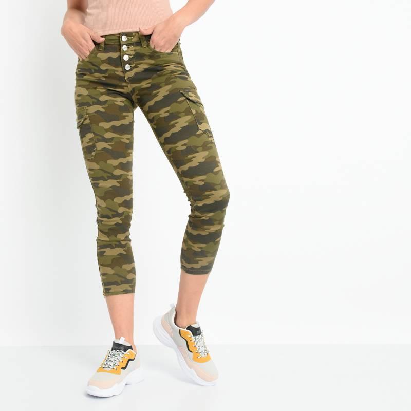 Sybilla - Pantalon Cargo Mujer Sybilla