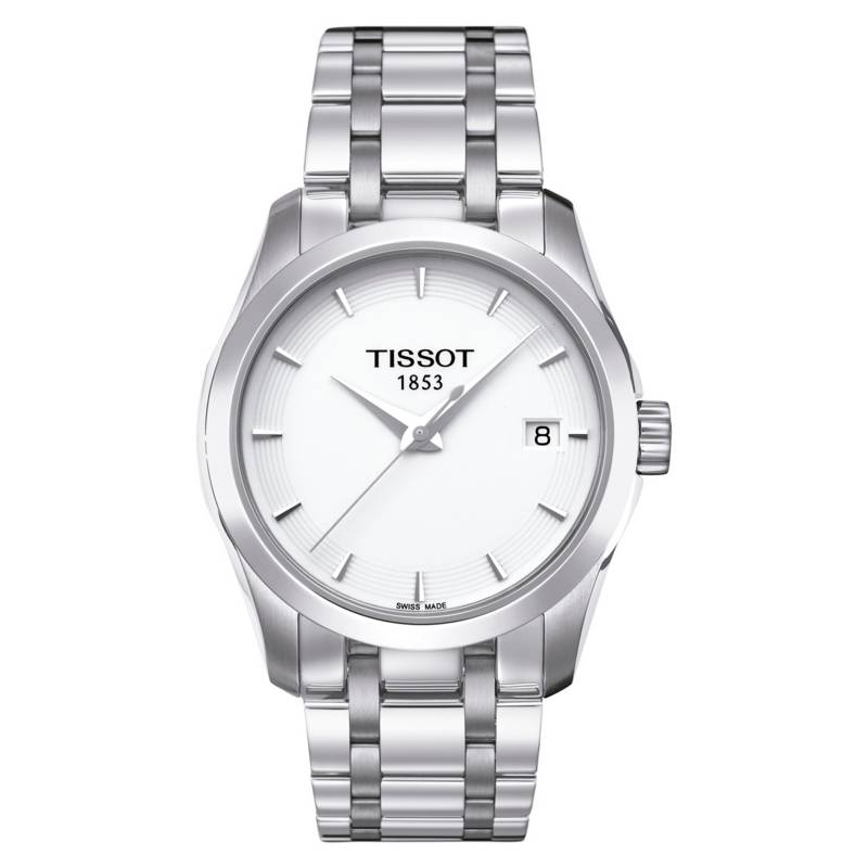 Tissot - Reloj Mujer Tissot Couturier T035.210.11.011.00