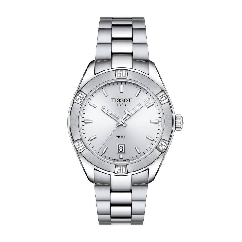 Tissot - Reloj Mujer Tissot PR 100 Sport Chic T101.910.11.031.00