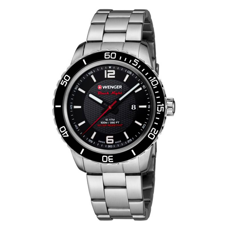 Wenger - Reloj Hombre Wenger Roadster Black Night 01.0851.122