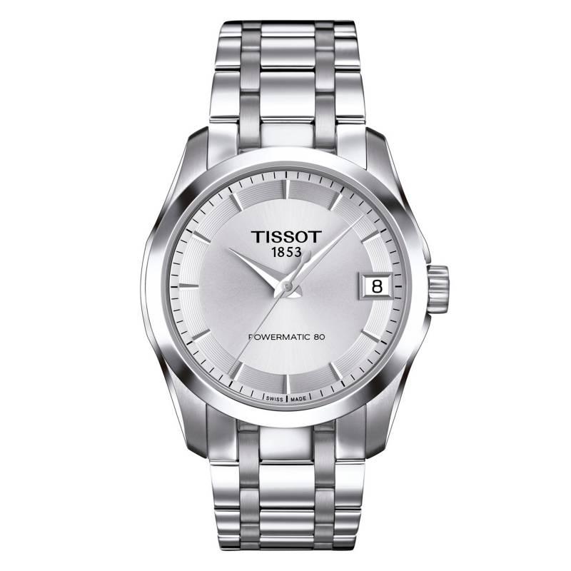 Tissot - Reloj Mujer Tissot Couturier T035.207.11.031.00