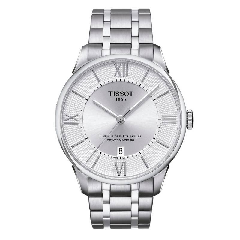 Tissot - Reloj Hombre Tissot Chemin Des Tourelles Powermatic 80 T099.407.11.038.00