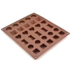 Press - Molde de Silicona para Chocolate