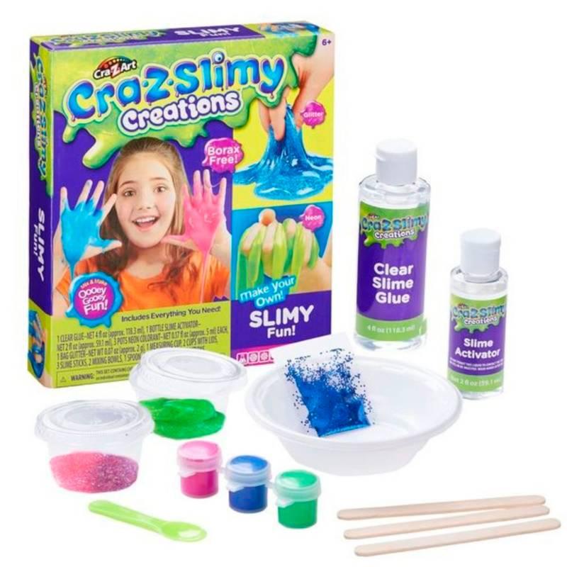 Crazy Art - Slimy Kit Grande Slime