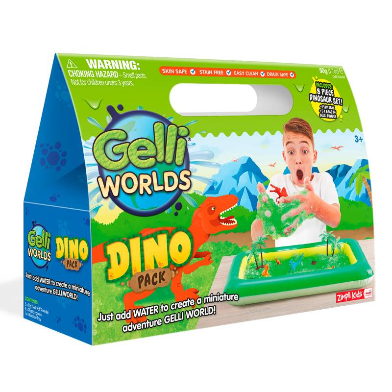 Cra Z Slimy - Gelli Worlds - Dino Gelli