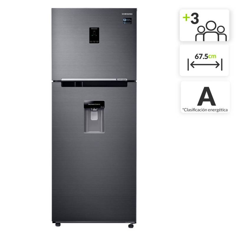 Samsung - Nevera Samsung Congelador Superior 382L RT38K5930BS/CO
