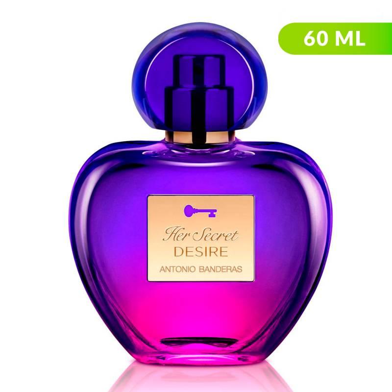 Antonio Banderas - Perfume Antonio Banderas Her Secret Desire Mujer 50 ml EDT