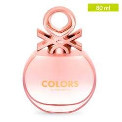 Perfume United Colors Of Benetton Colors Rosé Mujer 80 ml
