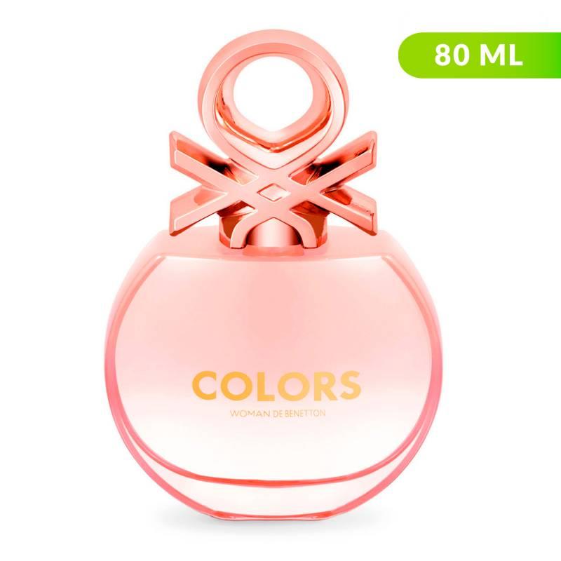 Benetton - Perfume Benetton Colors Rosé Mujer 80 ml EDT