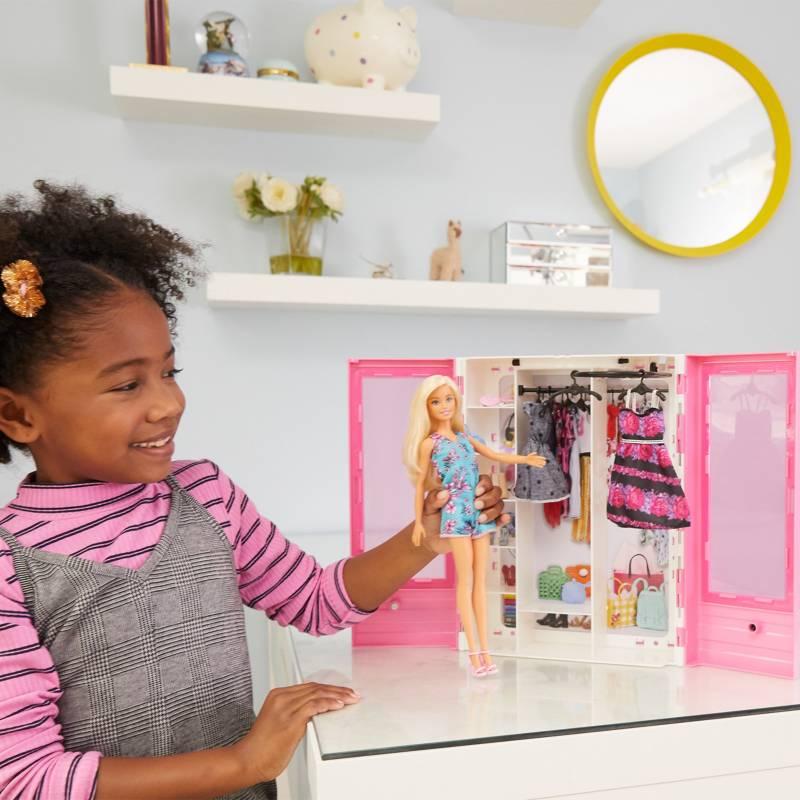Barbie - Barbie Closet de Lujo con Muñeca