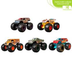 Hot wheels - Vehículo Monster Trucks Escala 1:64
