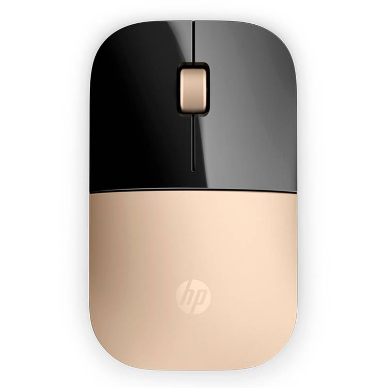 HP - Mouse HP Z3700 Gold Wireless
