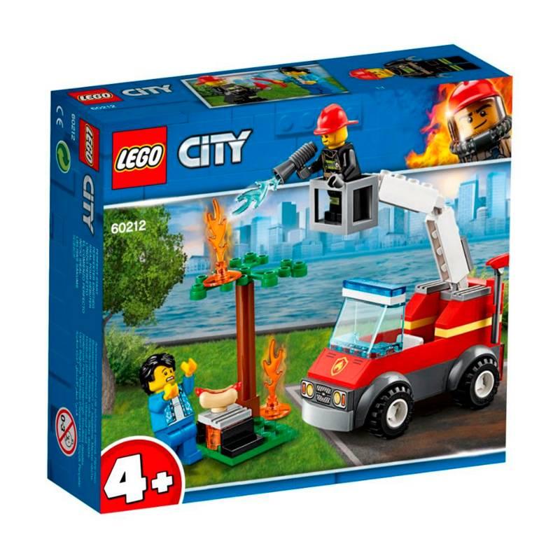 Lego - Lego City - Barbecue en Apuros