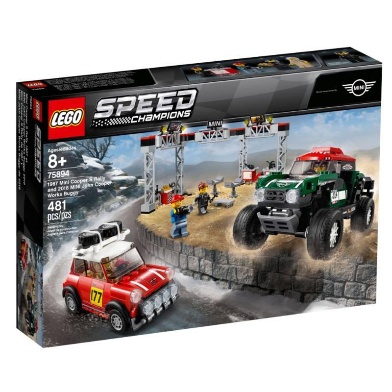 Lego - Lego Speed Champions - Set de Rallye Mini Cooper
