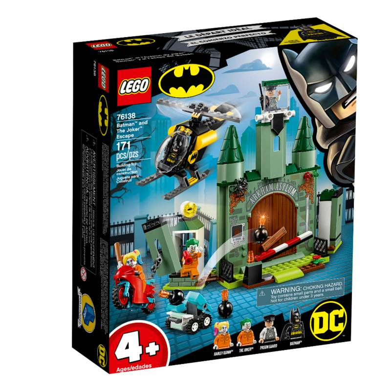 Lego - Lego Dc Super Heroes - Escape Batman Vs Guason