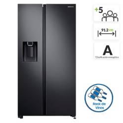 Samsung - Nevecón Samsung Side by Side 617 lt RS65R5411B4/CO