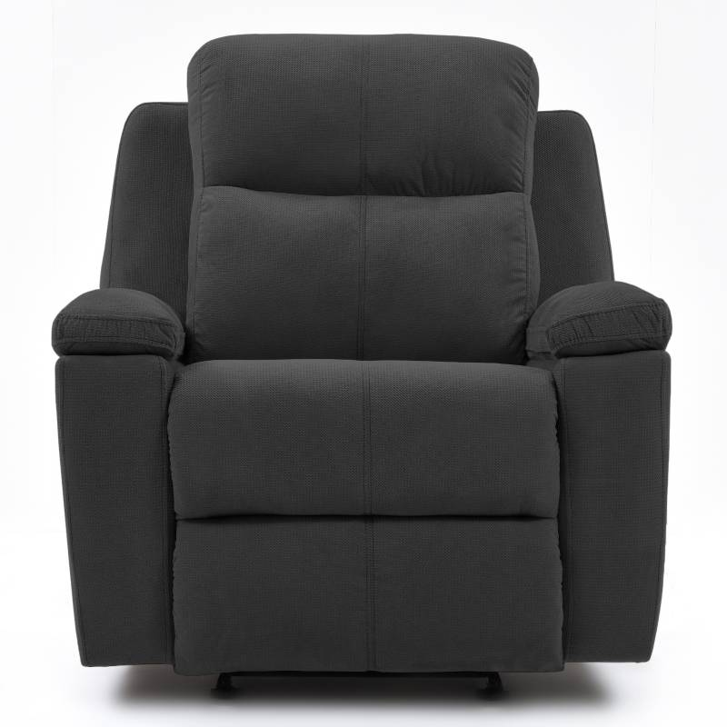 Relax Home - Silla Reclinable 1 Puesto Microfibra Marsella