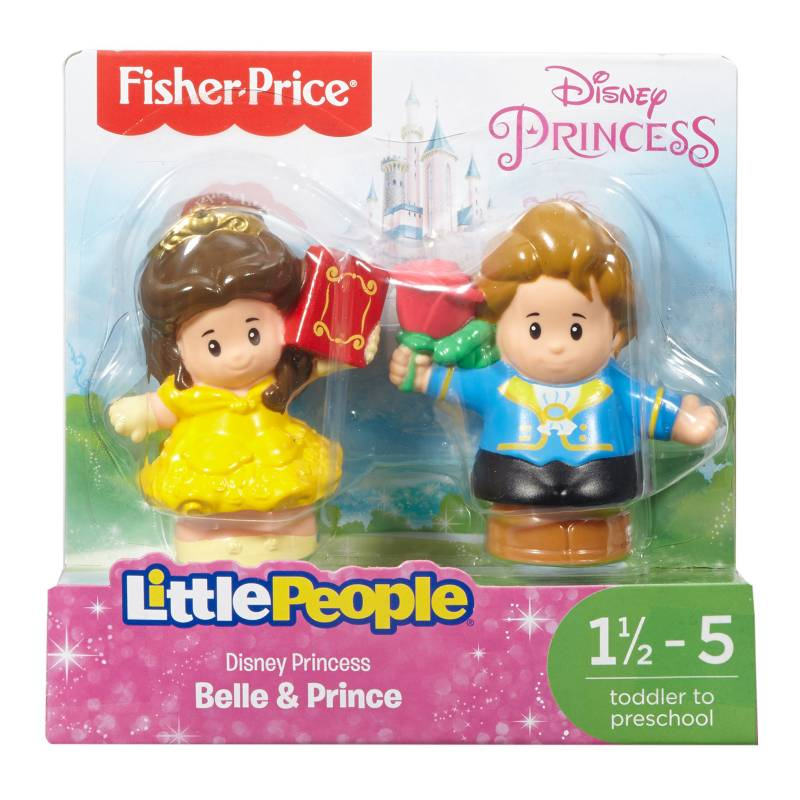 LITTLE PEOPLE - Disney Princesas Pack x 2