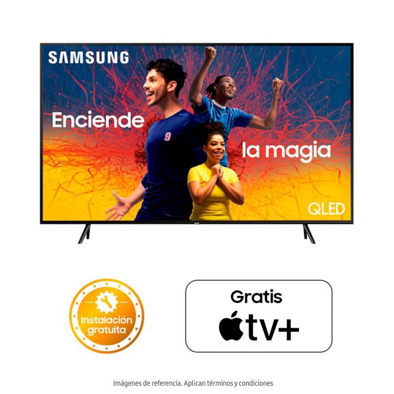 Samsung - Televisor Samsung 82 pulgadas QLED 4K Ultra HD Smart TV
