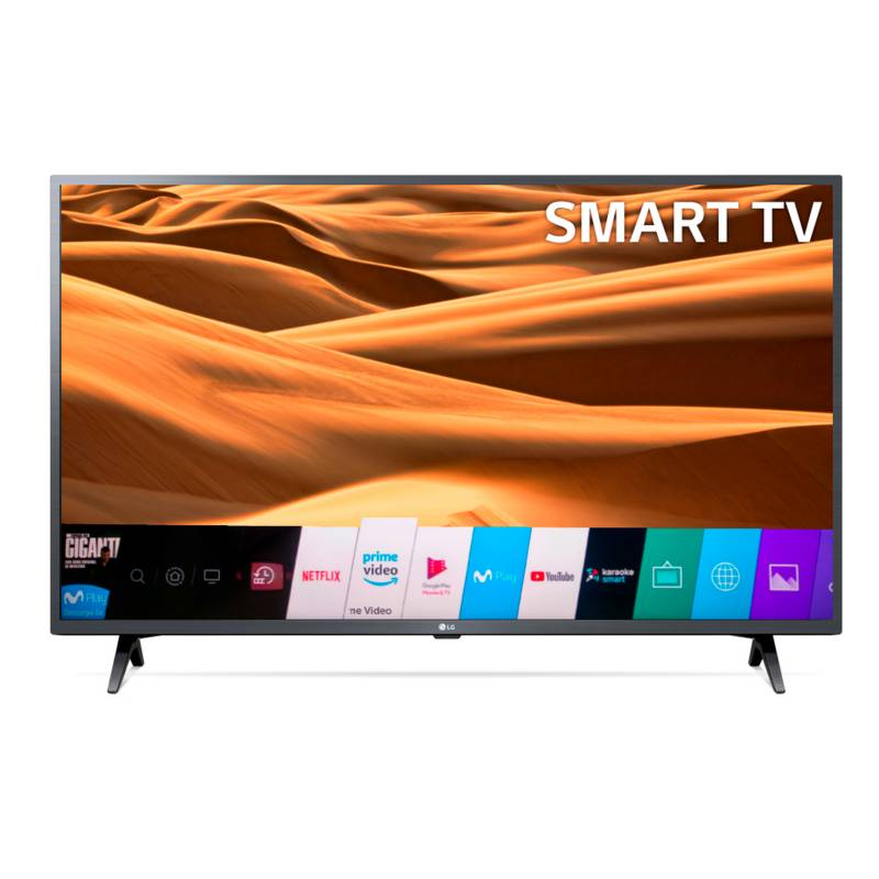 LG - Televisor LG 43 pulgadas LED Full HD Smart TV