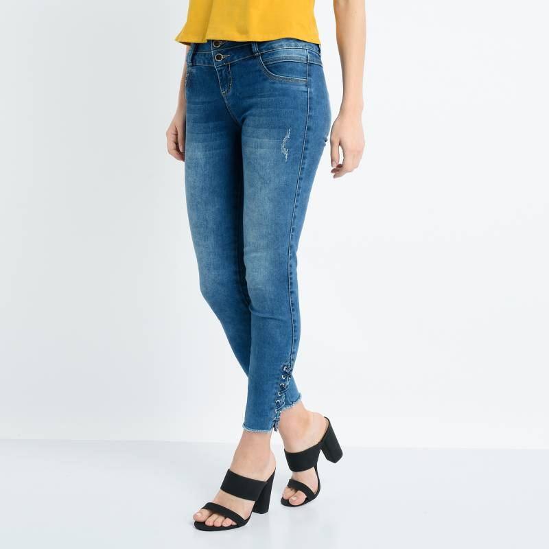 Mossimo - Jean Push Up Mujer Mossimo