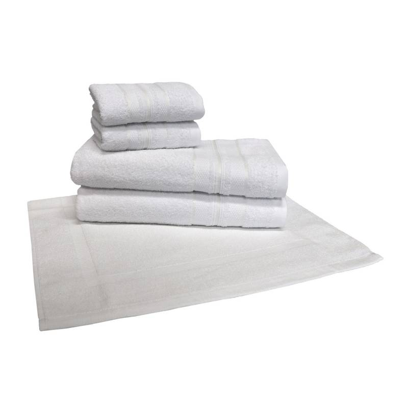 Basement Home - Set x5 Toallas Bali Blanco