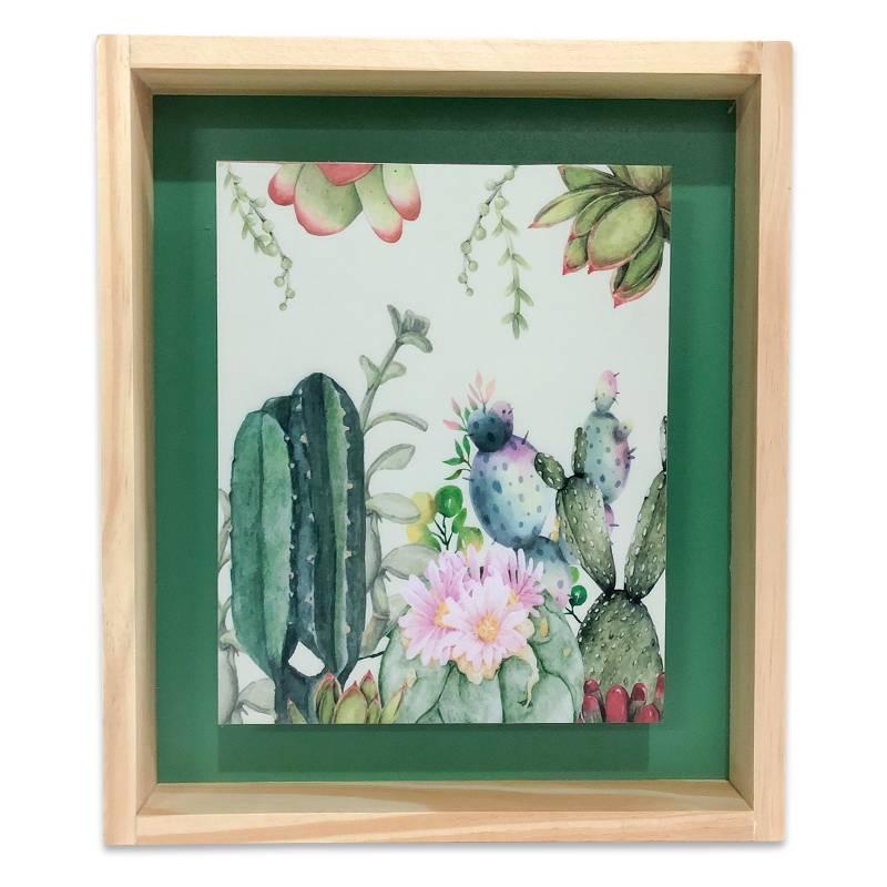 Sándalo - Cuadro Cactus