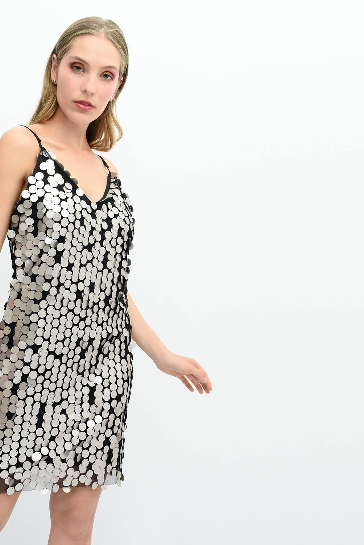 ELA - Vestido Corto Lentejuelas