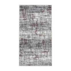Cuperz - Tapete Shiraz Rayas 80 x 150 cm Rojo