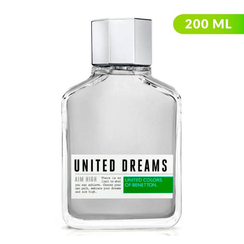 Benetton - Perfume Benetton United Dreams Aim High Hombre 200 ml EDT