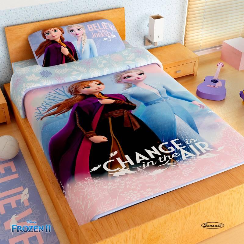 Disney - Juego de Sábanas Infantiles Microfibra Frozen