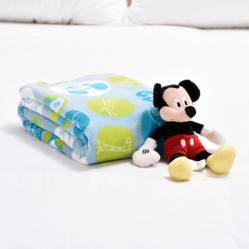 Disney - Cobija Baby Disney 90 X 110 Cm Mickey+Peluche Mickey