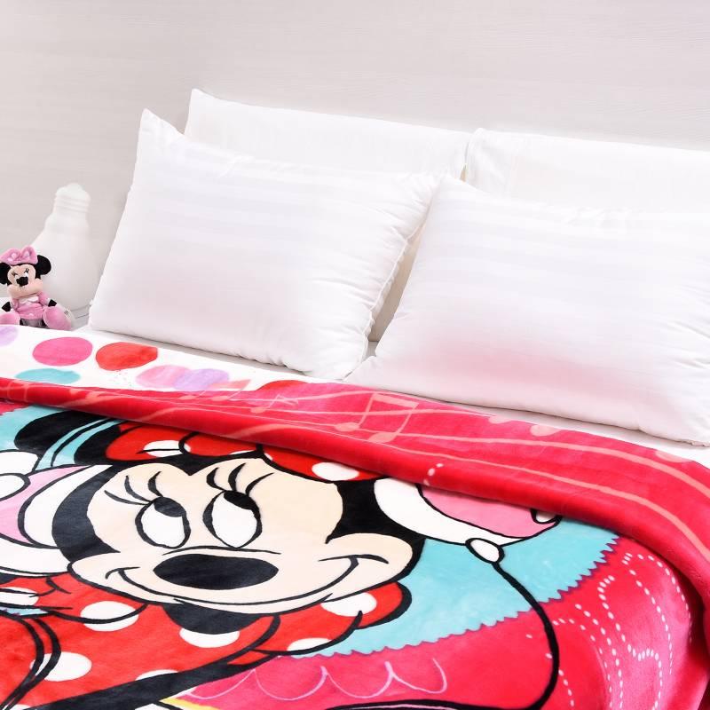 Disney - Cobija Sencilla Disney Minnie Fucsia