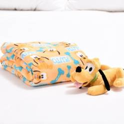 Disney - Cobija Baby Disney 90 X 110 Cm Pluto+Peluche Pluto