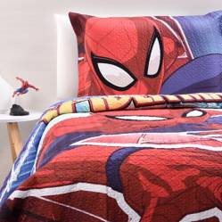Marvel - Cubrelecho Spiderman + Funda Almohada