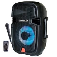 """Aiwa - Cabina Activa Parlante Bluetooth Recargable 30W 8"""" AIWA"""