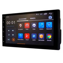 "Radio Carro Android Pantalla 7"" Táctil Bluetooth USB"