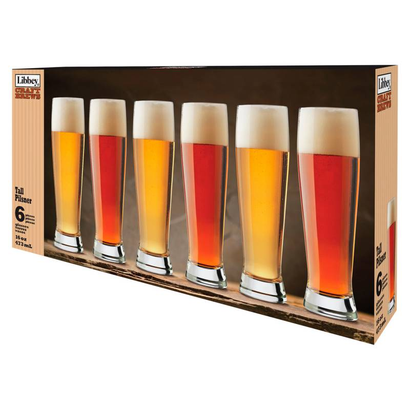 Libbey - Set x6 Copas Craft Brew 473 ml