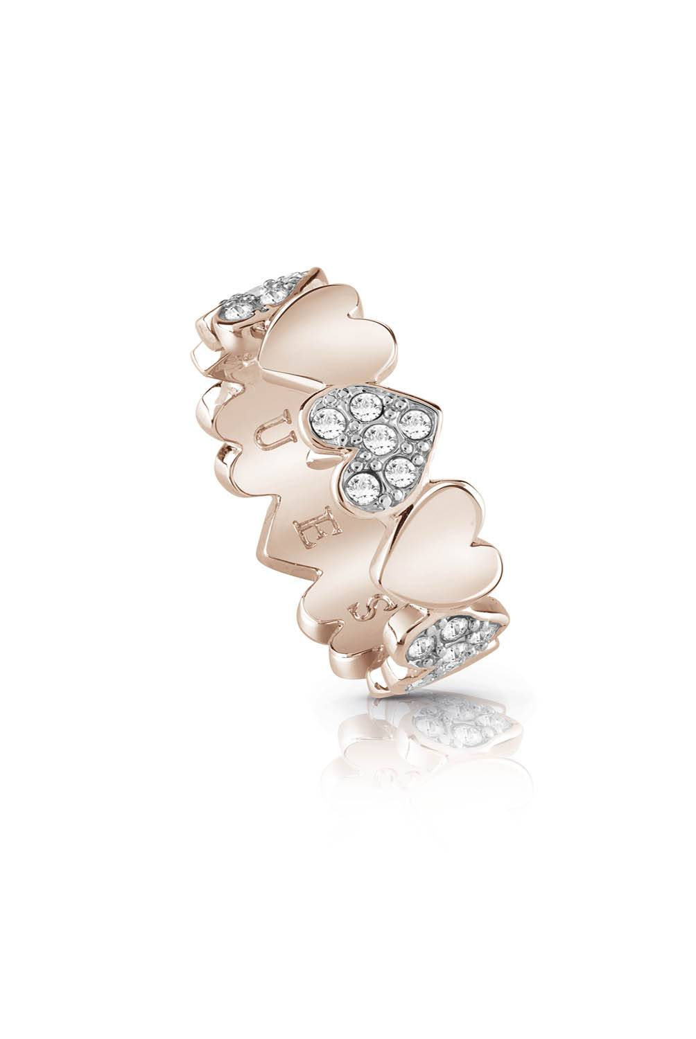 Guess - Anillo Guess Heart Bouquet UBR85025-54