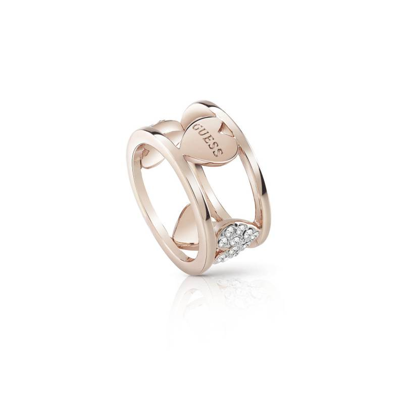 Guess - Anillo Guess Heart Bouquet UBR85027-54