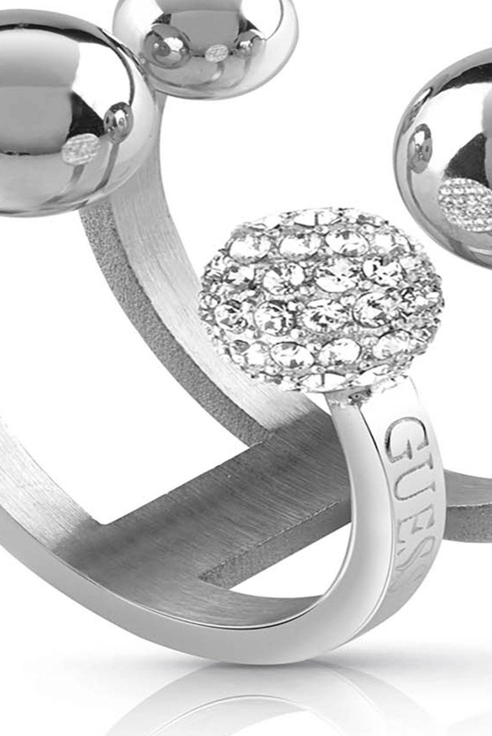 Guess - Anillo Guess Pompom UBR78015-56