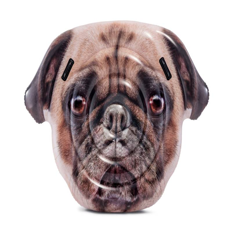 Intex - Flotador Isla Pug Face