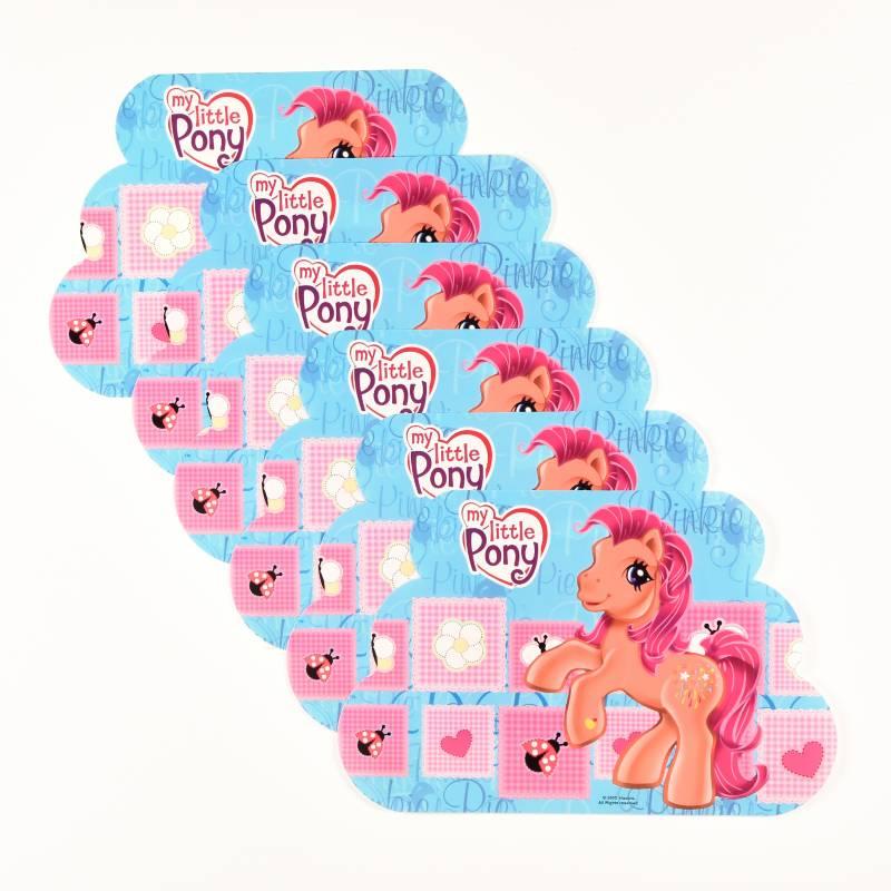 Mays C.I. Iblu S.A.S - Set x 6 Individuales Little Pony