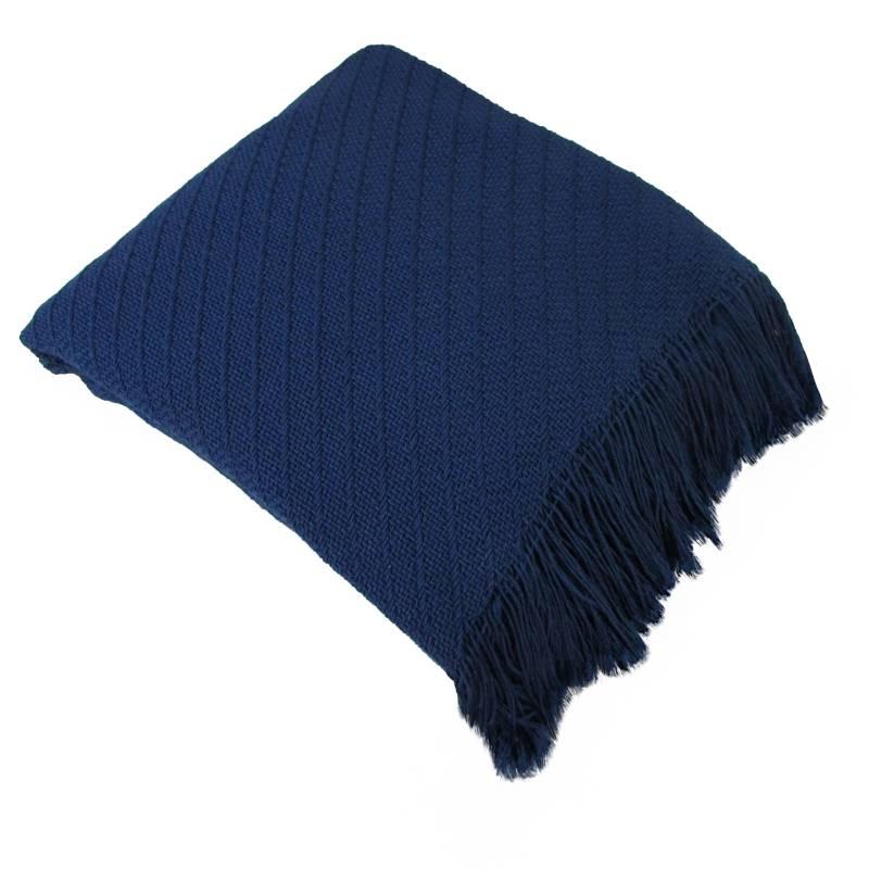 Fatelares - Manta Throw Rodas Azul