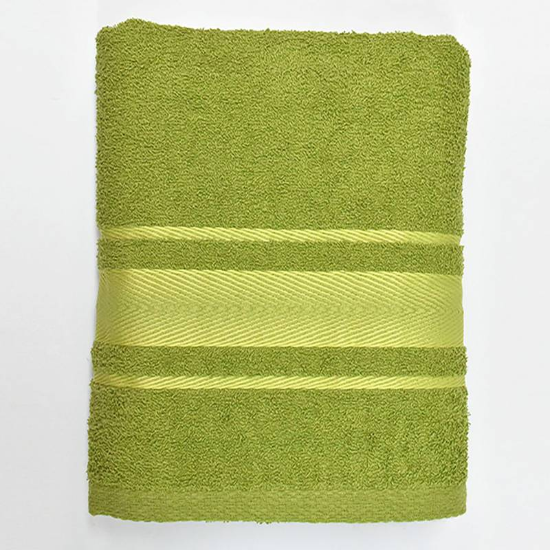 Telary - Toalla de Cuerpo 420 g Tfuzzy Verde 70 x 130 cm